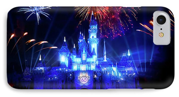 Disneyland 60th Anniversary Diamond Celebration IPhone Case