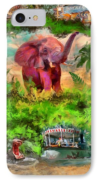 Disney's Jungle Cruise IPhone Case by Caito Junqueira