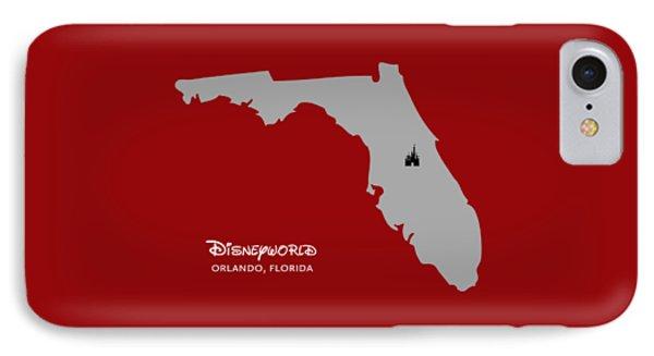 Disneyworld IPhone Case