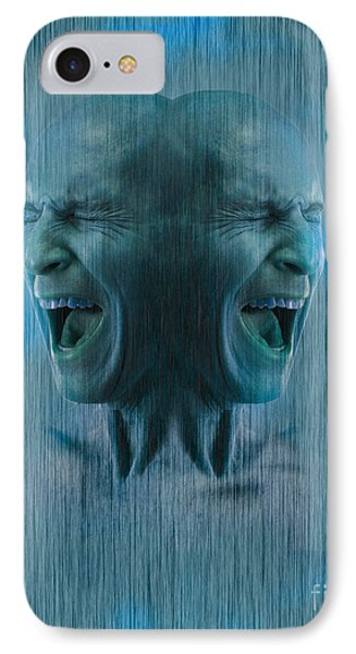 Dissociative Identity Disorder IPhone Case by George Mattei