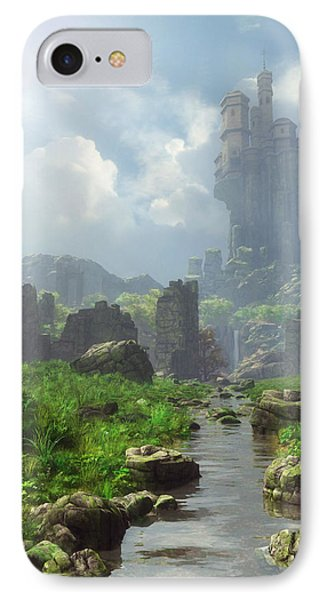 Distant Castle IPhone Case