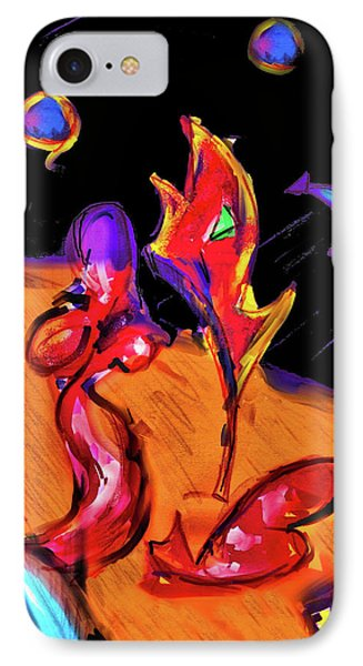 Distant Crossroads IPhone Case by Robert Henne