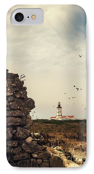 Distant Lighthouse IPhone Case by Carlos Caetano