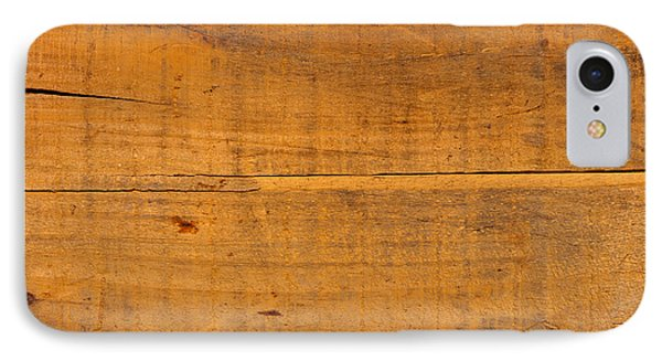 Distressed Wood Planks IPhone Case by Olivier Le Queinec