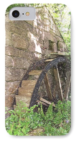 Disused Water Wheel IPhone Case by Jayne Wilson