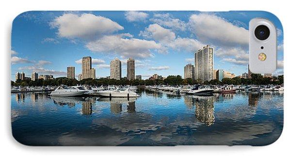 Diversey Harbor Chicago IPhone Case by Steve Gadomski