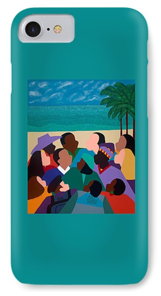 Diversity In Cannes IPhone Case by Synthia SAINT JAMES