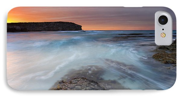Kangaroo iPhone 7 Case - Divided Tides by Mike  Dawson