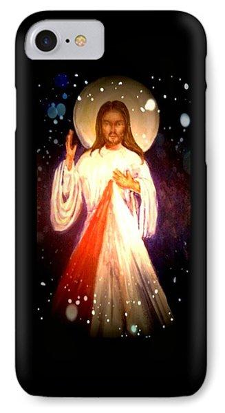 Divine Mercy IPhone Case by Patricia Ducher