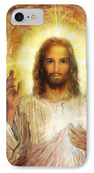 Divine Mercy, Sacred Heart Of Jesus 2 IPhone Case by Terezia Sedlakova Wutzay