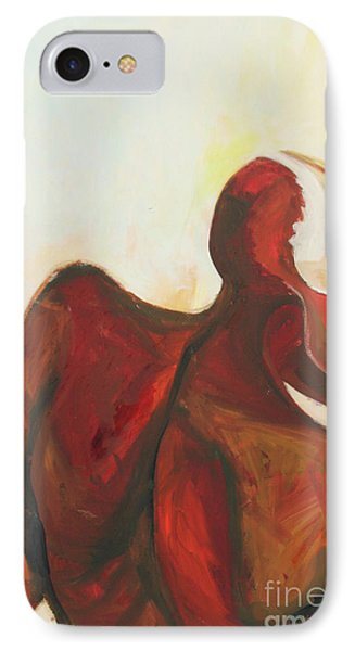 IPhone Case featuring the painting Division by Daun Soden-Greene