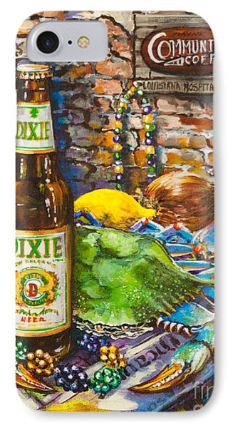 Dixie Love IPhone Case by Dianne Parks