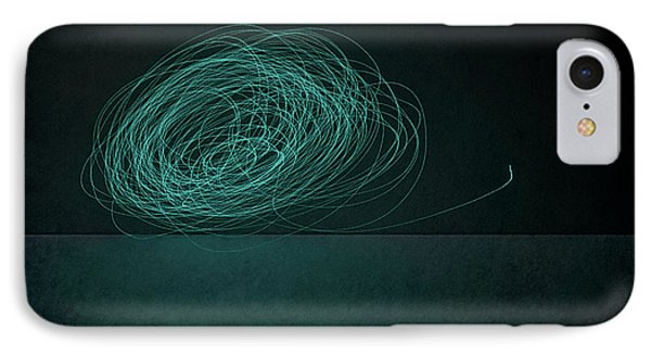 Dizzy Moon IPhone Case by Scott Norris