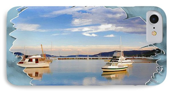 IPhone Case featuring the photograph Do-00115 Boats In Gosford by Digital Oil