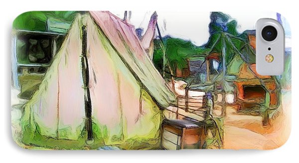 IPhone Case featuring the photograph Do-00139 Tent by Digital Oil