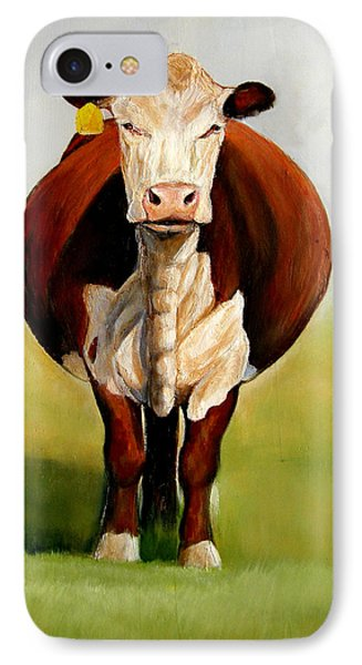 Do I Look Fat IPhone Case by Toni Grote