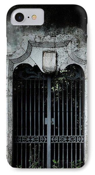 IPhone Case featuring the photograph Do Not Enter by Marco Oliveira