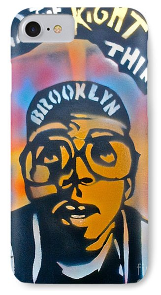 Do The Right Thing Phone Case by Tony B Conscious