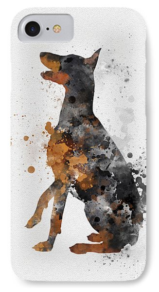 Doberman Pinscher IPhone Case