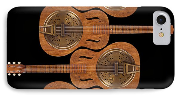 Dobro 5 IPhone Case by Mike McGlothlen