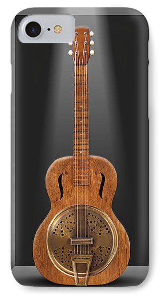 Dobro In A Box Phone Case by Mike McGlothlen