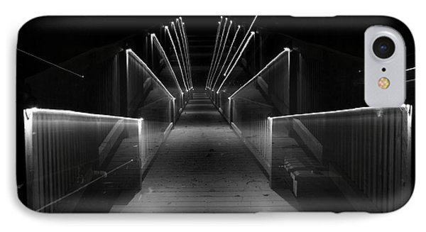Dock Night Lights IPhone Case by Skip Willits