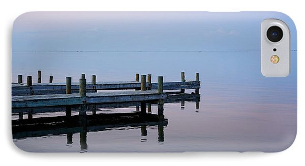 IPhone Case featuring the photograph Dock On The Indian River by Bradford Martin