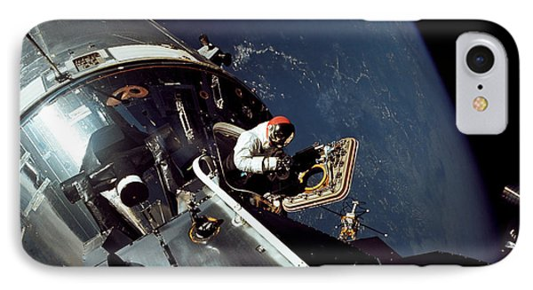 Docked Apollo 9 Command And Service Phone Case by Stocktrek Images