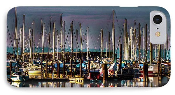 Docked Sailboats IPhone 7 Case by David Patterson
