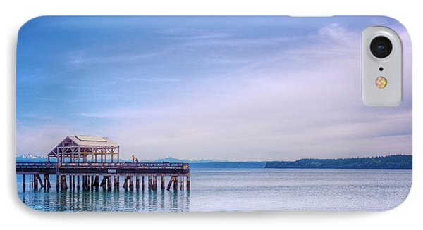 IPhone Case featuring the photograph Dockside by Spencer McDonald
