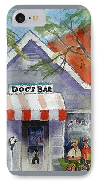 Docs Bar Tybee Island IPhone Case