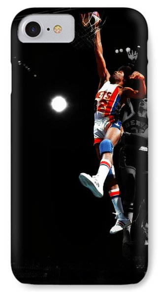 Doctor J Over The Top IPhone Case by Brian Reaves