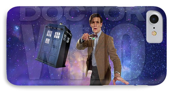 Doctor Who IPhone Case by Pat Cook