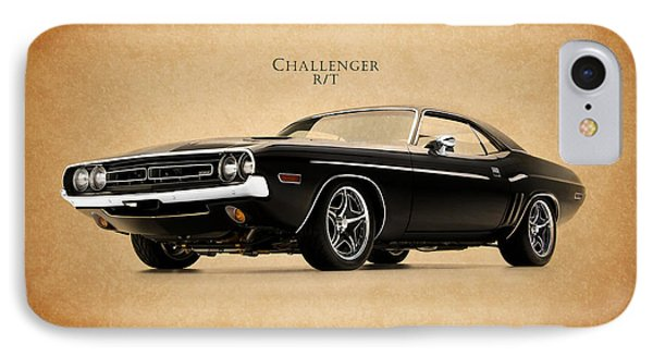 Dodge Challenger Phone Case by Mark Rogan