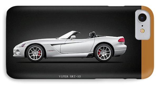 Dodge Viper Srt10 IPhone 7 Case by Mark Rogan