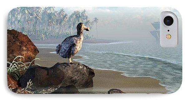 Dodo Afternoon Phone Case by Daniel Eskridge
