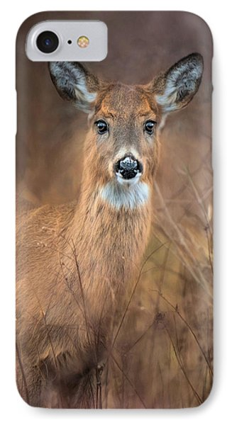 IPhone Case featuring the photograph Doe A Deer by Robin-Lee Vieira