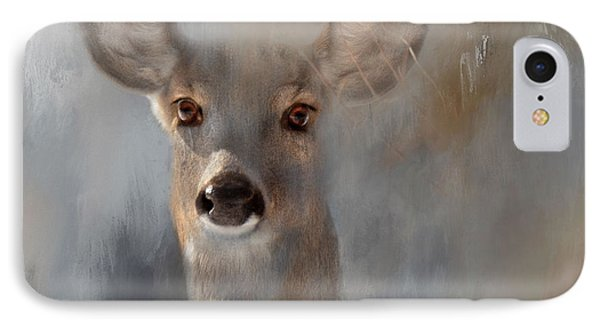 Doe Eyes IPhone Case by Kathy Russell