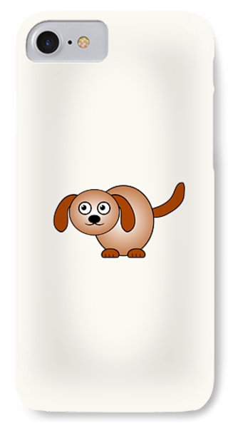 Dog - Animals - Art For Kids IPhone Case by Anastasiya Malakhova