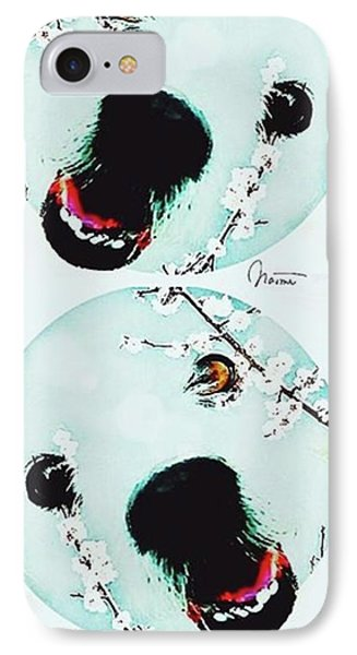 Dog Blossoms  IPhone 7 Case