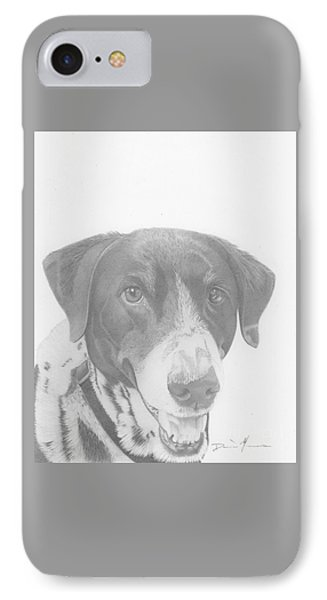 Dog Drawing Orion IPhone Case