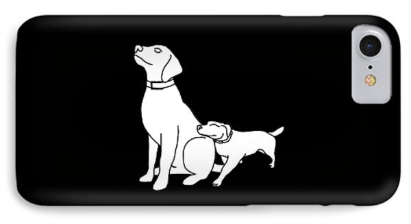 Dog Love Tee IPhone Case