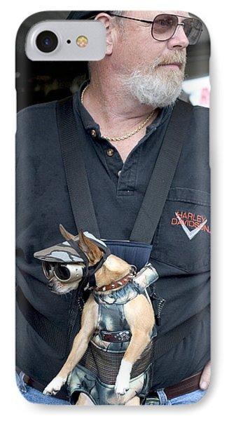Doggie Biker IPhone Case