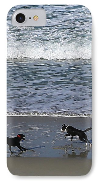 IPhone Case featuring the photograph Doggie Fun by Nareeta Martin