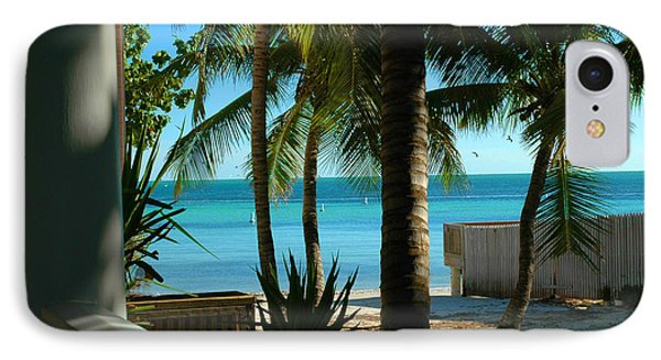 Dog's Beach Key West Fl Phone Case by Susanne Van Hulst