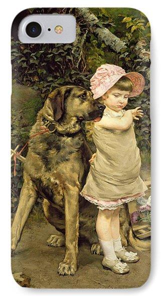 Dog's Company IPhone Case by Edgard Farasyn