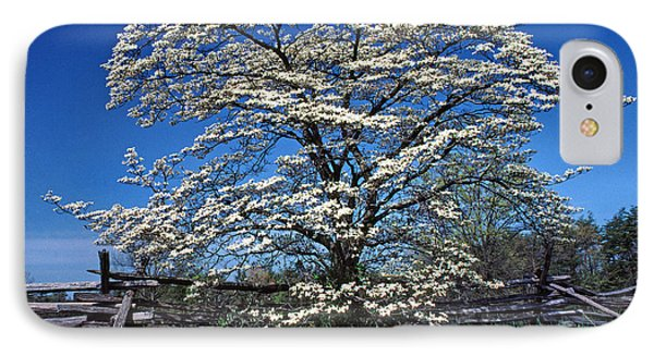 Dogwood And Rail Fence Phone Case by Thomas R Fletcher