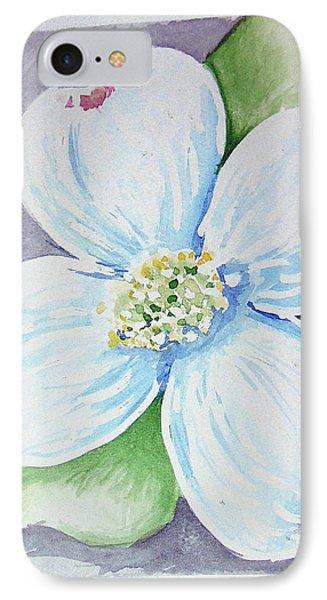 Dogwood Bloom Phone Case by Loretta Nash