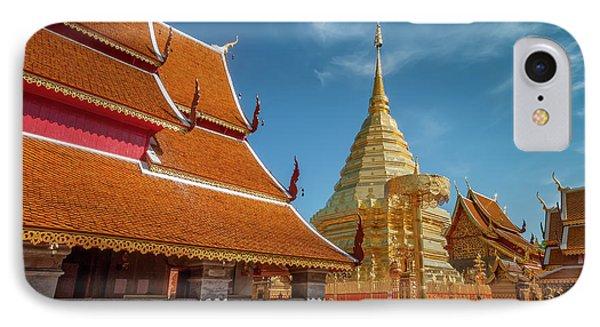 Doi Suthep Temple IPhone Case