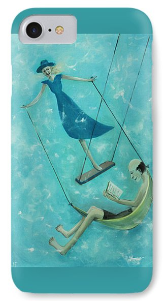 Doing The Swing IPhone Case